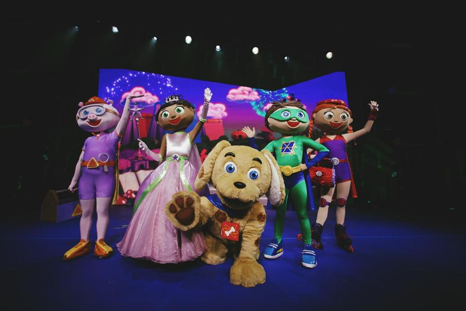 """Super WHY!""brings a live adaptation of the musically inclined PBS Kids animated series about a group of super-powered fairy tale characters to Lowell May 9."